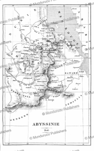 Map of Abyssinia and the major tribes, Noel Desvergers, 1848 | Photos and Images | Digital Art