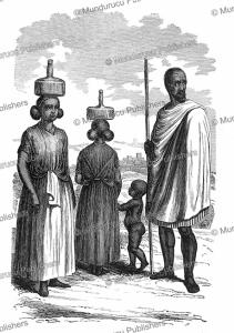 A family from Harar, Ethiopia, Richard Burton, 1857   Photos and Images   Digital Art