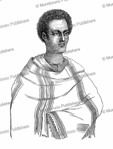 Sahle Selassie (1795-1847), an important Amhara noble of Ethiopia, M. Rochet d'He´ricourt, 1841 | Photos and Images | Digital Art