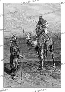 tuareg people, north africa, pranishnikoff, 1882