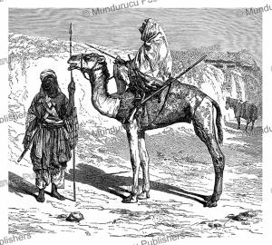 Tuareg warriors from Djebel Hoggar in Algeria, W. Sievers, 1891 | Photos and Images | Digital Art