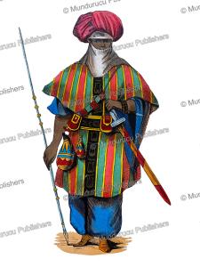 Tuareg soldier, Auguste Wahlen, 1844 | Photos and Images | Digital Art