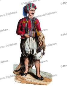 Moorish man of Algeria, Auguste Wahlen, 1844 | Photos and Images | Digital Art