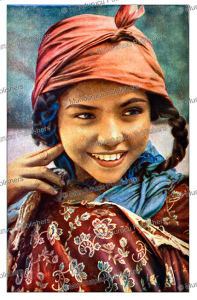 Arab girl from Tunis, J.A. Hammerton, 1895 | Photos and Images | Digital Art