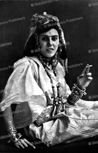Arab woman with cheek tattoos from Africa   Photos and Images   Digital Art