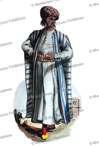 Arab merchant with a tattoo pattern on his cheek, Adolphe Franc¸ois Pannemaker, 1843 | Photos and Images | Digital Art