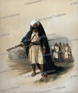 Arabs of the Beni Said tribe, David Roberts, 1834 | Photos and Images | Digital Art