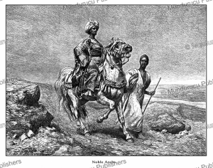 Noble Arabs of Egypt, C. Rudolf Huber, 1878 | Photos and Images | Digital Art