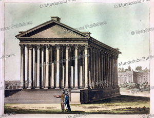 Roman temple of Jupiter at Baalbek in Heliopolis in modern Lebanon, Gaetano Zancon, 1817 | Photos and Images | Digital Art