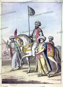 The dress of an emir, G. Bigatti, 1815 | Photos and Images | Digital Art