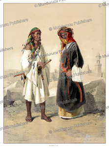 Wahabs with an Azam Arab, d'Avennes Prisse, 1851 | Photos and Images | Digital Art