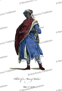 Dress of a Moor from Arabia, Hans Weigel, 1577 | Photos and Images | Digital Art