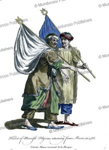 moorish pilgrims returning from mecca in 1568, nicolas de nicolay, 1571