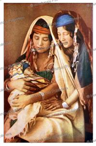 Bedouin women, J.A. Hammerton, 1895   Photos and Images   Digital Art