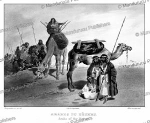 Arabs of the Desert, Emile Callande de Champmartin, 1830   Photos and Images   Digital Art