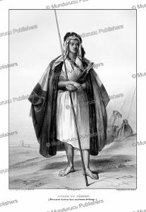 Arab of the desert, Madame Deve´ria, 1830   Photos and Images   Digital Art