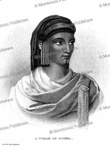 Woman of Sokna with chin tattoo, Libya, Hugh Claperton, 1784 | Photos and Images | Digital Art