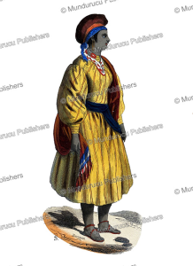 woman from sokna, libya, theophile emanuel duverger, 1844
