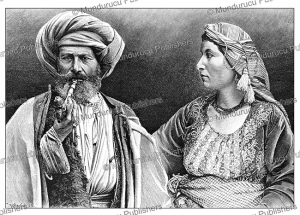 Syrian Arabs, R. Henkel, 1892 | Photos and Images | Digital Art