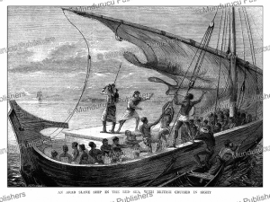 An Arab slave ship in the Red Sea, Horace Harral, 1874 | Photos and Images | Digital Art