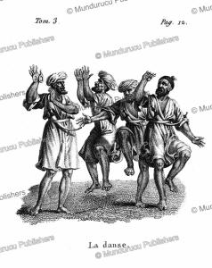 Arab men dancing, F. Massard, 1816 | Photos and Images | Digital Art