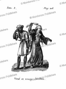 Arab widows, Arabia, F. Massard, 1816 | Photos and Images | Digital Art
