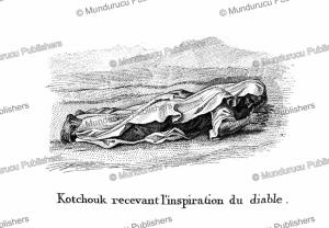 Kotchouk Arab receiving inspiration from the devil, F. Massard, 1816 | Photos and Images | Digital Art