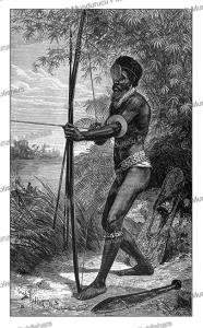 Samoan warrior, Franz Keller-Leuzinger, 1880 | Photos and Images | Digital Art
