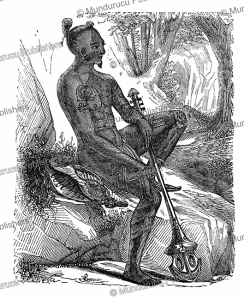 Native of Nuka Hiva, L'Illustration, 1847 | Photos and Images | Digital Art