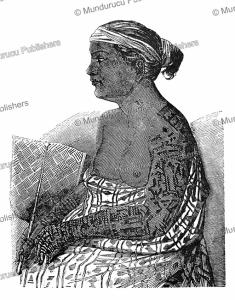 princess patini of nuka hiva, l'illustration, 1847