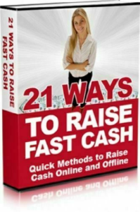 21 Ways To Raise Fast Cash PDF eBook | eBooks | Business and Money