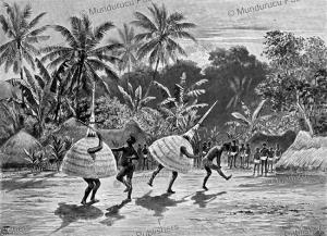 Duk-Duk dance, New Britain, Joachim von Pfeil, 1899 | Photos and Images | Digital Art