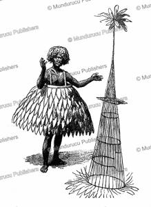 Duk-Duk costume, New Britain, R. Parkinson, 1887 | Photos and Images | Digital Art