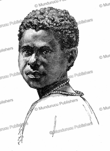 young girl of mioko island, one of the duke of york islands, bismarck archipelago, r. parkinson, 1887