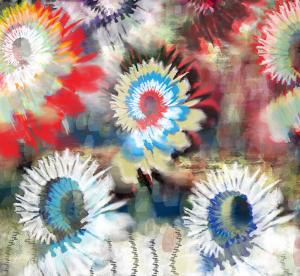 tie dye artwork
