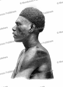 A man of the Solomon Islands with scarification marks on his face, Wilhelm Sievers, 1893 | Photos and Images | Digital Art