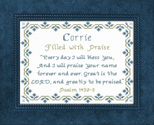 Name Blessings - Corrie | Crafting | Cross-Stitch | Other