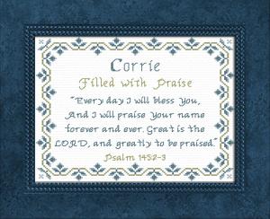 name blessings - corrie