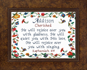 Name Blessings - Addison | Crafting | Cross-Stitch | Other