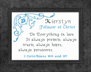 Name Blessings - Kierstyn | Crafting | Cross-Stitch | Other