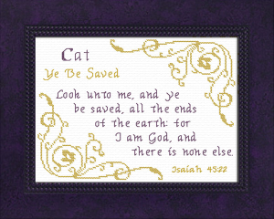Name Blessings - Cat | Crafting | Cross-Stitch | Other