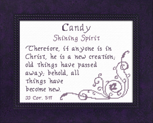 name blessings - candy
