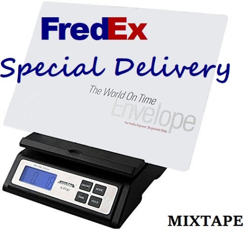 """First Additional product image for - FredEx """"Special Delivery"""" MIXTAPE"""
