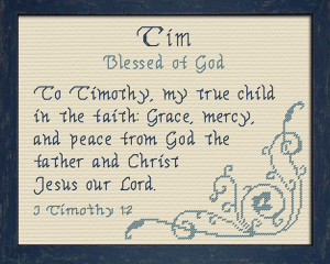 Name Blessings - Tim | Crafting | Cross-Stitch | Other