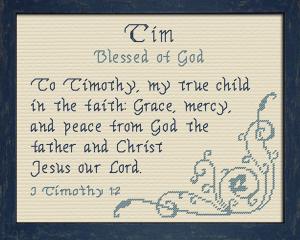 name blessings - tim