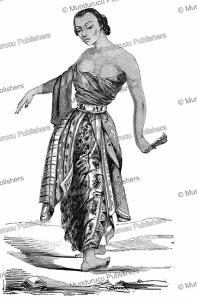 javanese dancer, l'illustration, 1852