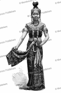 Javanese dancer, Le Magasin Pittoresque, 1889 | Photos and Images | Digital Art