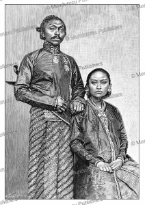 The emperor and empress of Soerakarta, Java, H. Thiriat, 1892 | Photos and Images | Digital Art