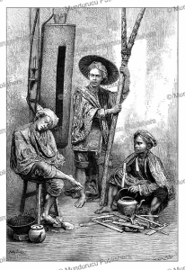 guards of batavia, java, a. sirouy, 1880