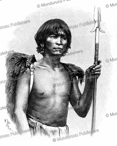 a man of the ifugao, meaning earth people, from the ifugao province, philippines, h. thiriat, 1889